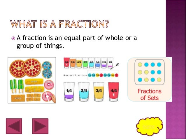 Fractions.