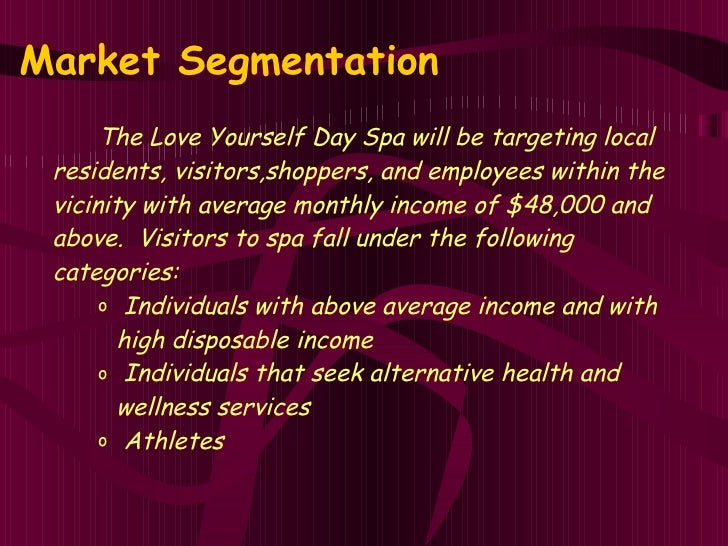 Day spa business plan executive summary day spa business plan love yourself day spa business plan day spa business plan template accmission Images