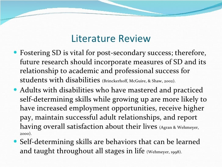literature review on effective presentations