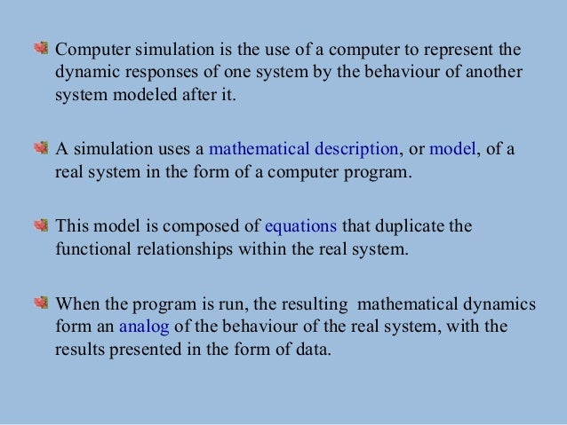 powerpoint presentation on computer simulation blended learning and e