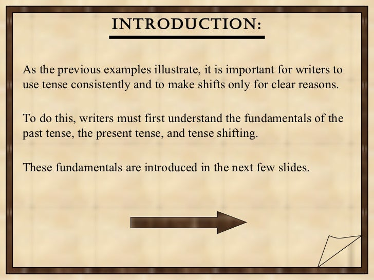 good introduction for presentation example