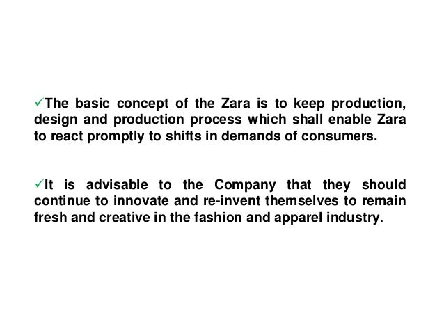 zara and its challenges Its products wind up on the shelves and clothing racks of its shops because zara produces them by itself and only continues to manufacture those products that sell the best 3 thoughts on  zara's 'fast fashion' business model  donetello kelley says: february 19, 2016 at 7:56 am g.