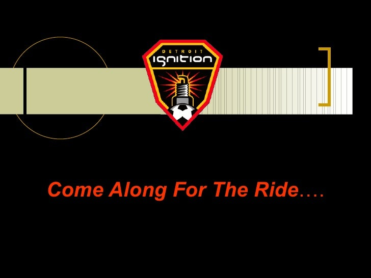 Come Along For The Ride ….