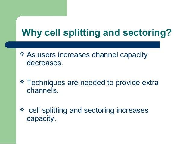 cell splitting in mobile communication pdf