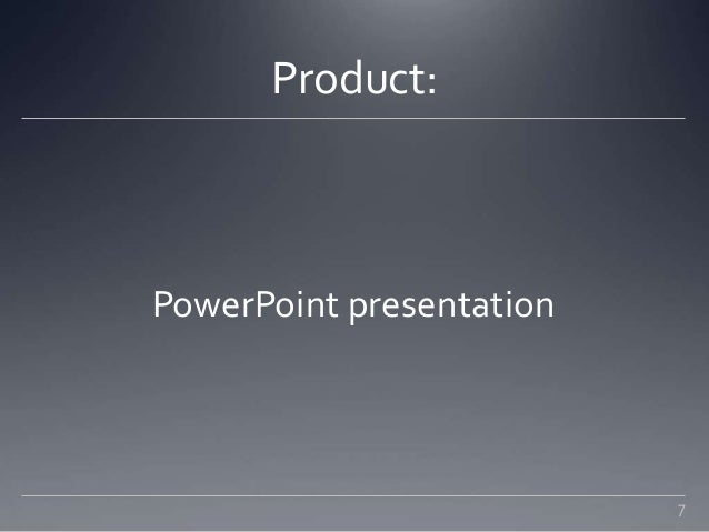 career project powerpoint