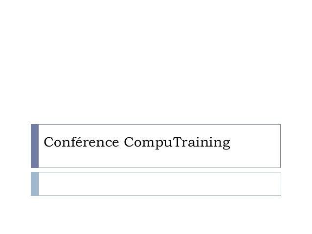 Conférence CompuTraining