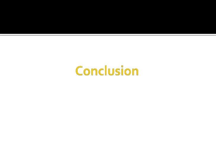 Conclusion<br />