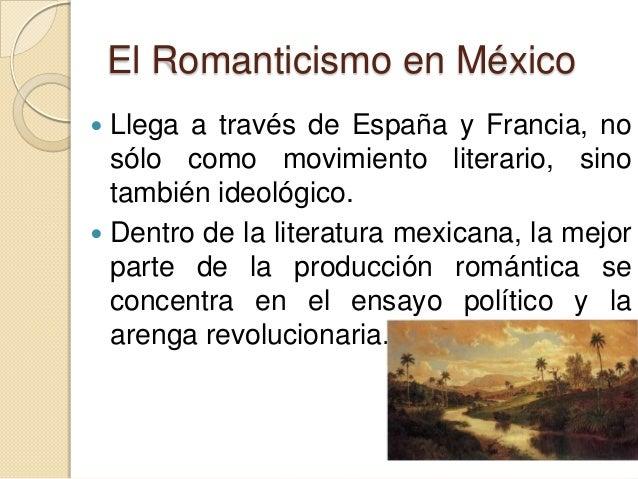 Power point romanticismo