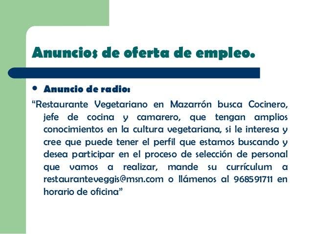 Ofertas De Jefe De Cocina   Power Point Ruben Y Vicente