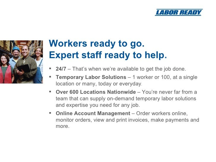 Where are some Labor Ready locations?