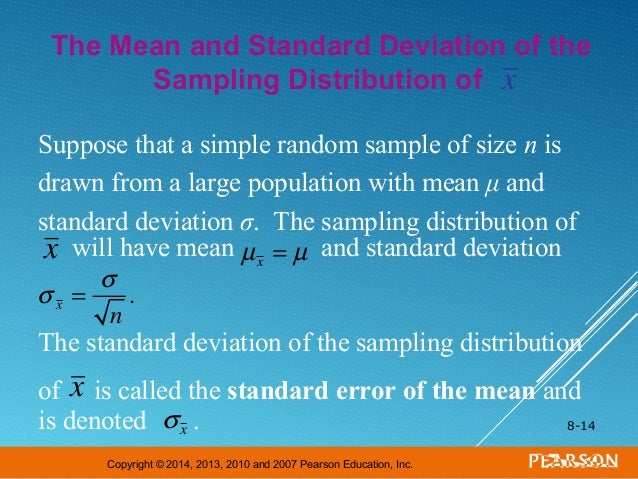 Powerpoint sampling distribution