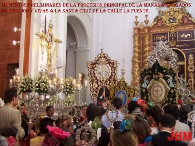ACTUAL MADERO DE LA SANTA CRUZ DE LA CALLE LA FUENTE QUE PROCESIONA DESDE EL AÑO 1998.