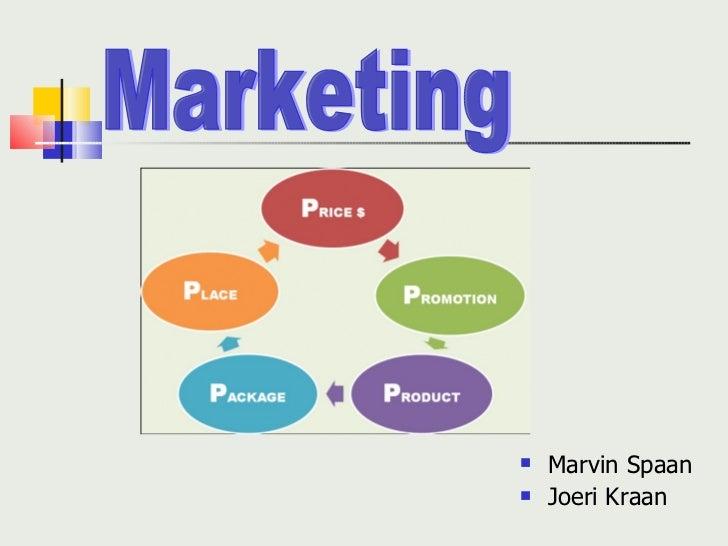 <ul><li>Marvin Spaan  </li></ul><ul><li>Joeri Kraan </li></ul>Marketing