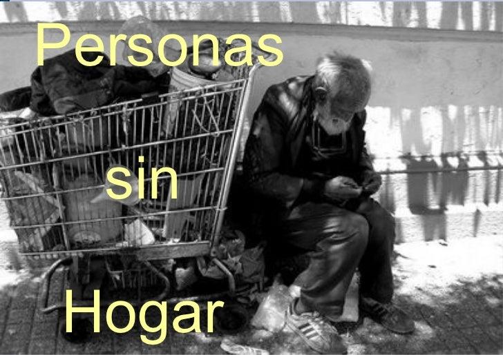 Personas  sinHogar