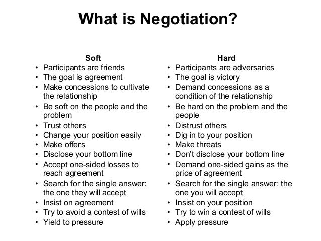 advantages of negotiation Learn how to negotiate like a diplomat, think on your feet like an improv performer, and master job offer negotiation like a professional athlete when you download a copy of our free special report, negotiation skills: negotiation strategies and negotiation techniques to help you become a better negotiator, from the program on.