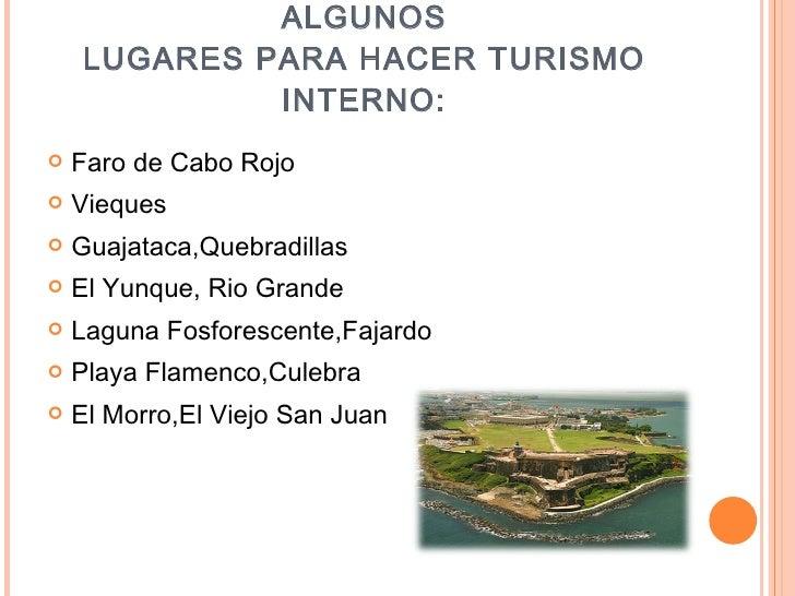 Power point sobre puerto rico for Turismo interno p r