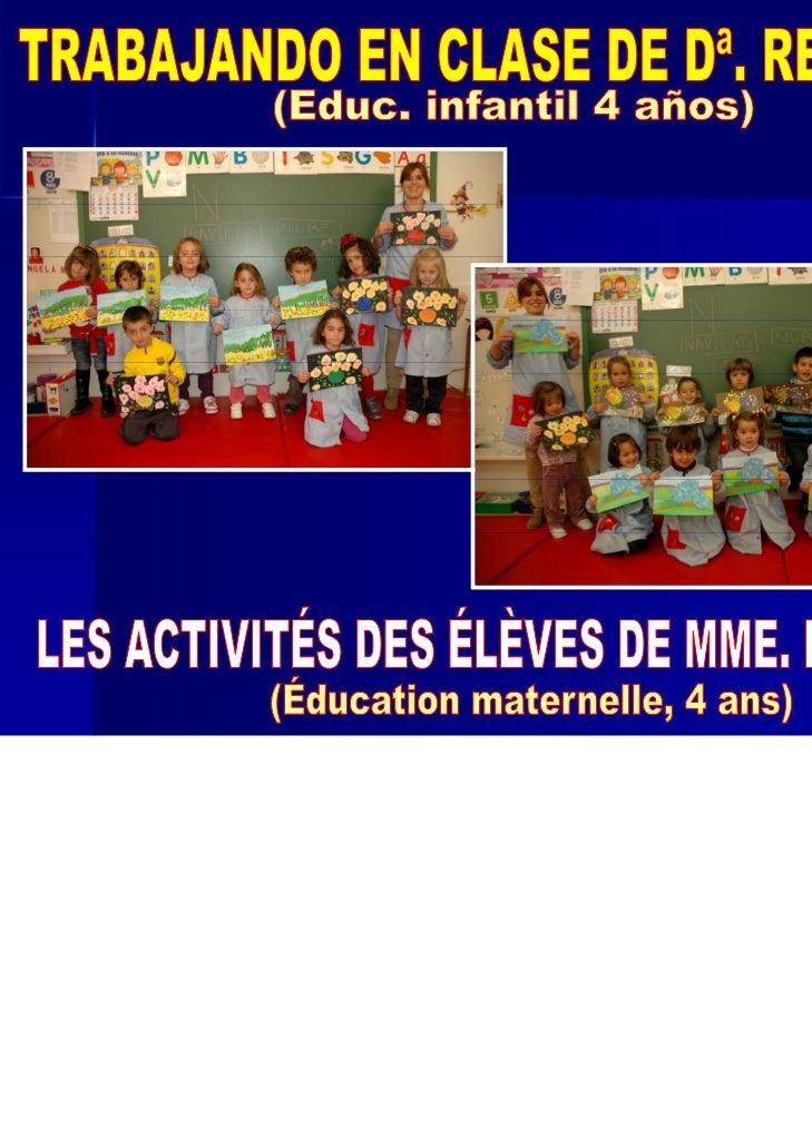 VAMOS A VER LOS TRABAJOS REALIZADOS POR LOS ALUMNOS YALUMNAS DE EDUCACIÓN INFANTIL (4 AÑOS B) DE Dª. REBECA.EL PINTOR TRAB...