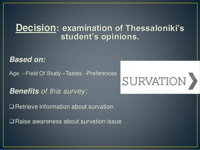 """What do students in Thessaloniki think about surveys - """"Survation"""" Slide 3"""