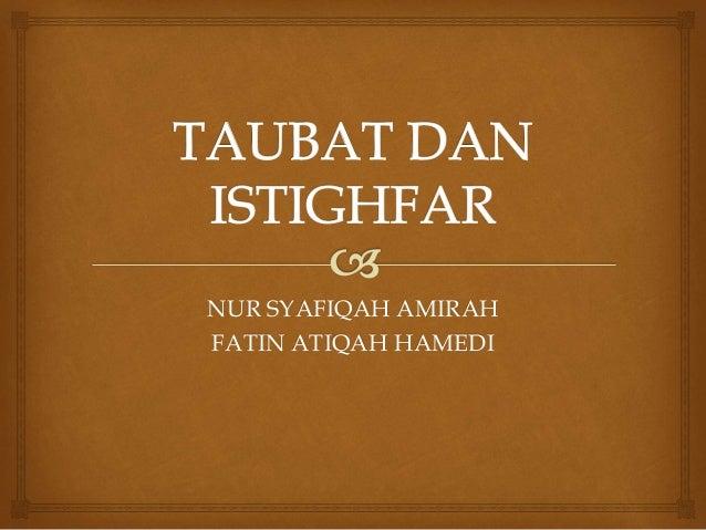 NUR SYAFIQAH AMIRAH FATIN ATIQAH HAMEDI