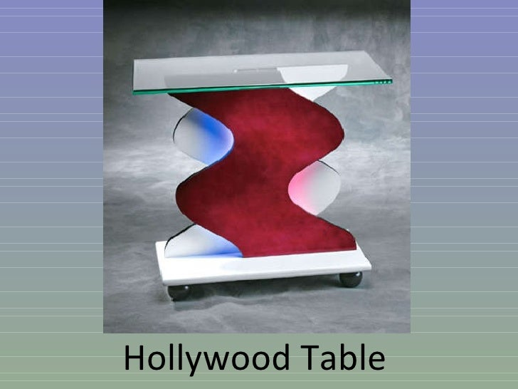 Hollywood Table