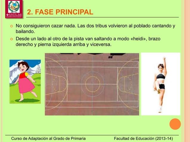 2. FASE PRINCIPAL Curso de Adaptación al Grado de Primaria Facultad de Educación (2013-14)  No consiguieron cazar nada. L...