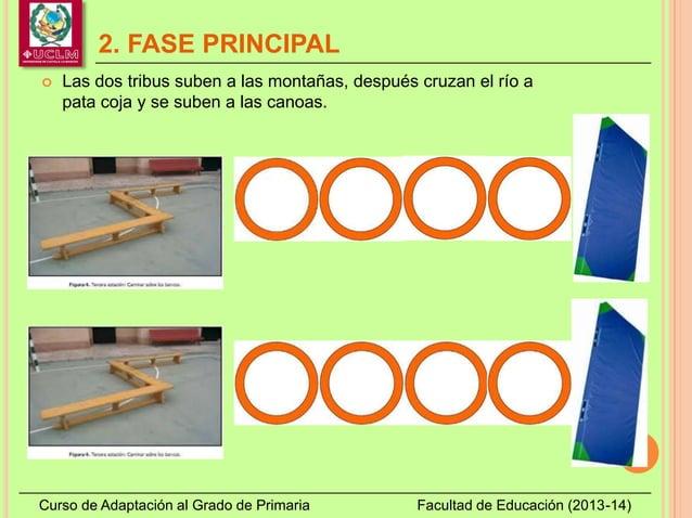 2. FASE PRINCIPAL Curso de Adaptación al Grado de Primaria Facultad de Educación (2013-14)  Las dos tribus suben a las mo...