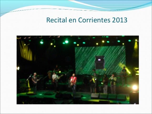 Recital en Corrientes 2013