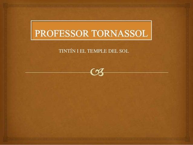 TINTÍN I EL TEMPLE DEL SOL