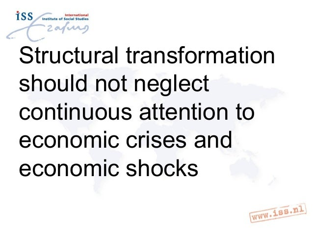 Structural transformation and productive employment, an