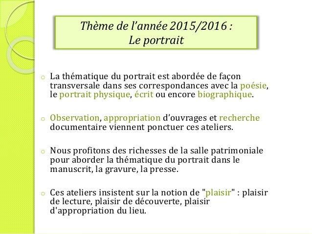 Accueil Scolaire Bibliotheque d'agglomération de Saint-Omer  2015/ 2016 -  CE1 / CM2  Slide 2