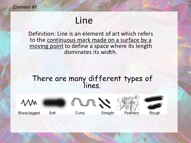 Line Art Def : Powerpoint elements and principles