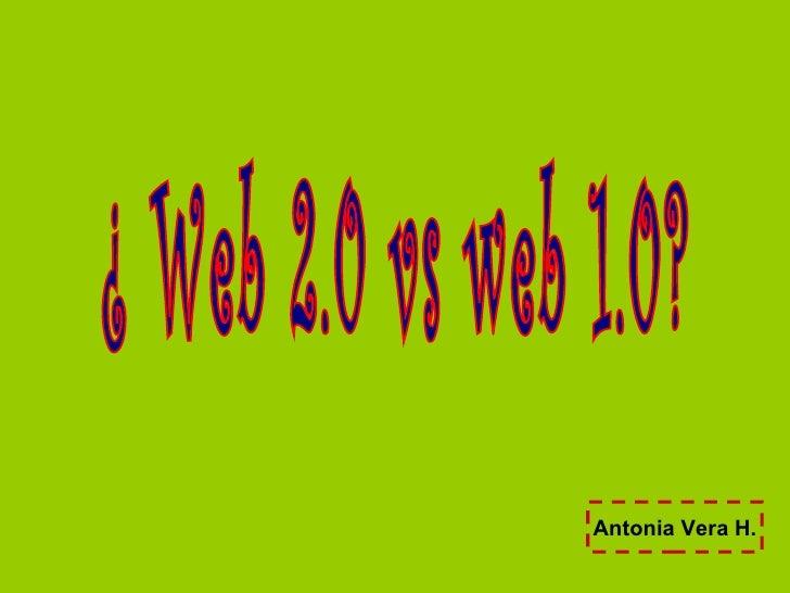 Antonia Vera H.