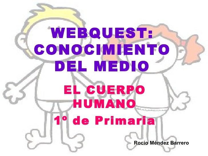 WEBQUEST: CONOCIMIENTO DEL MEDIO EL CUERPO HUMANO 1º de Primaria Rocío Méndez Barrero