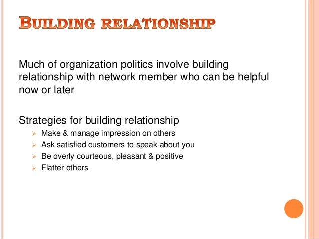  Power is the ability to influence people and events.  Managers need to use power effectively.  Closely related to powe...