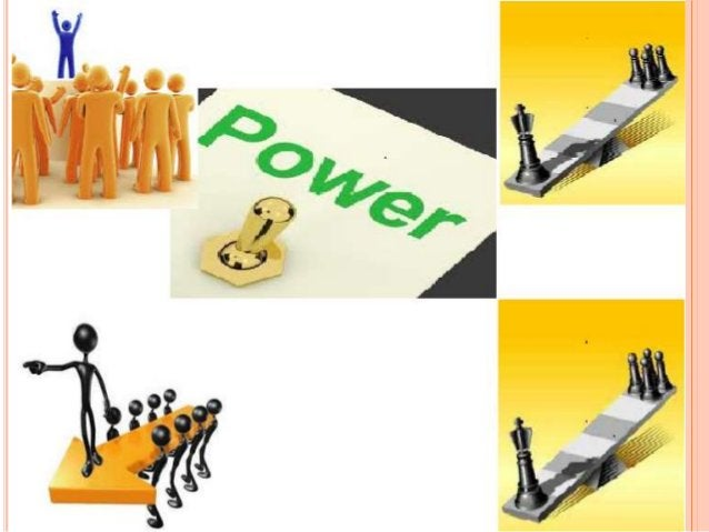  The capacity to direct or influence the behavior or the course of action of others  Power refers to a capacity that A h...
