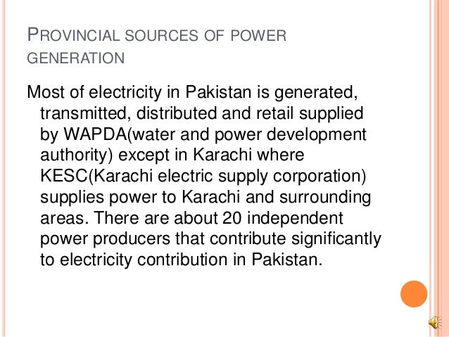 Power Potential In Pakistan