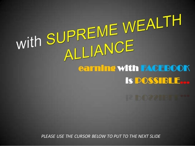 Power presentation of supreme wealth alliance proof of payments and t…