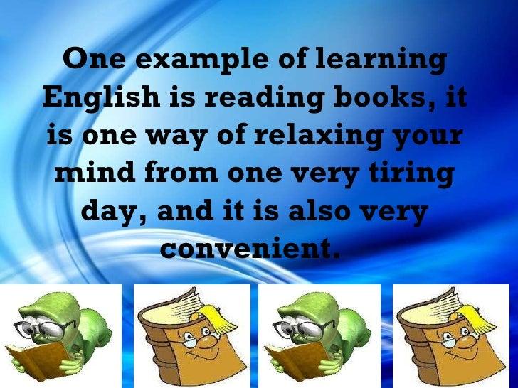 Learn english slideshow