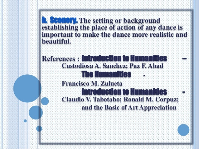 introduction to humanities sanchez Humanities definition, all human beings collectively the human race humankind see more.