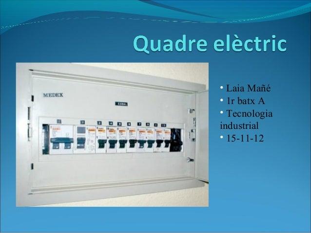 • Laia Mañé• 1r batx A• Tecnologiaindustrial• 15-11-12