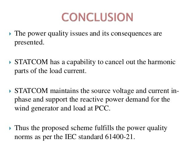 thesis on power quality issues Power system harmonics a reference guide to causes, effects and corrective measures an allen-bradley series of issues and answers.