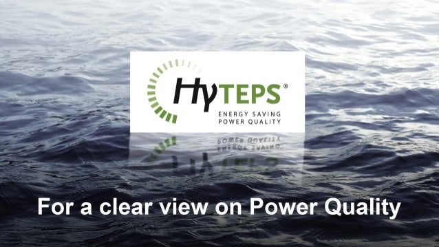 ,.    For a clear view on Power Quality A