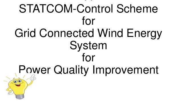 power quality using statcom