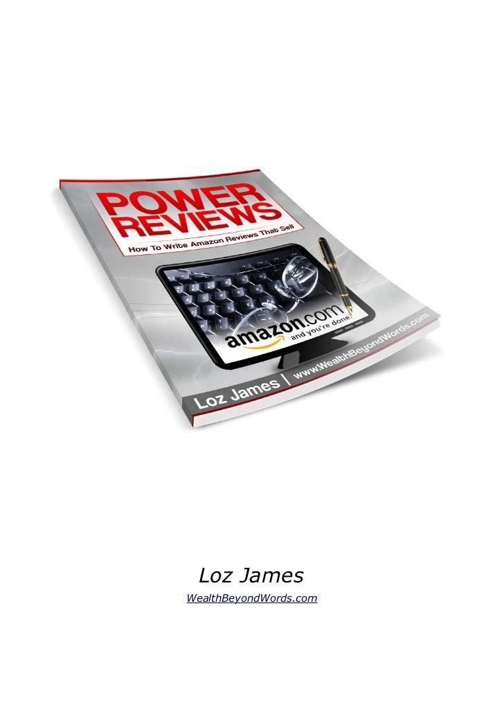 Loz JamesWealthBeyondWords.com