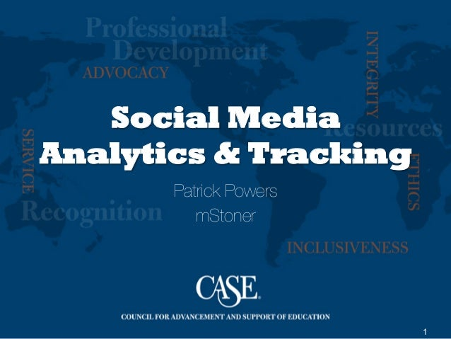1Social MediaAnalytics & TrackingPatrick PowersmStoner