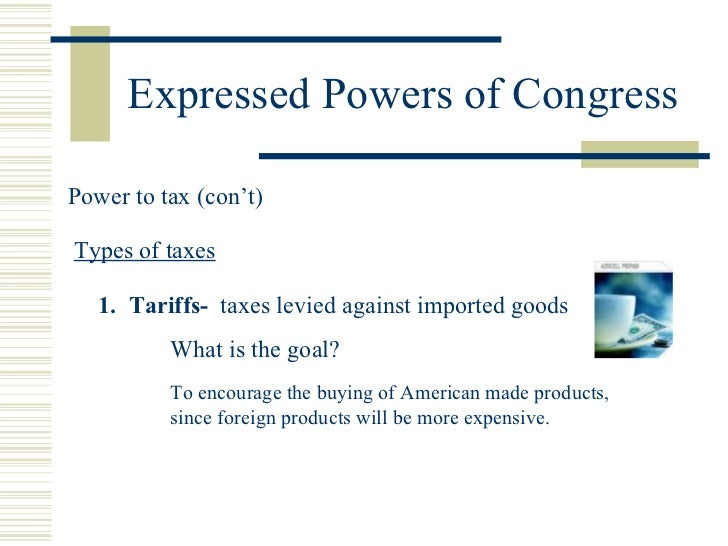 Powers Of Congress