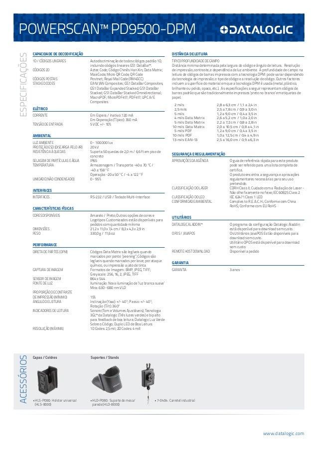 PowerScan 9500