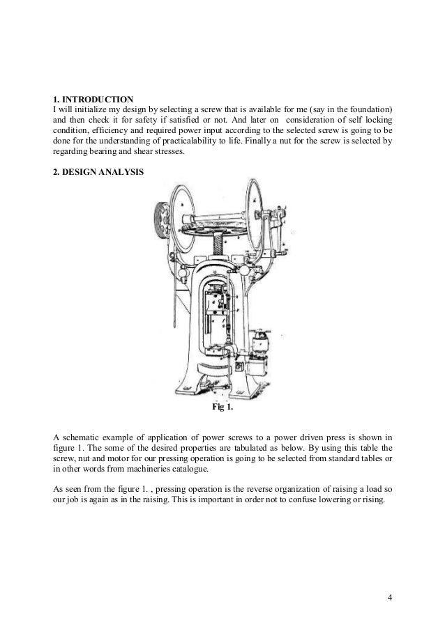 Power screw Erdi Karaçal Mechanical Engineer University of