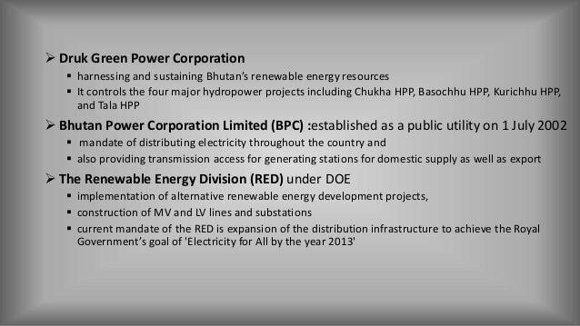 Power Scenario Of Bhutan And Nepal