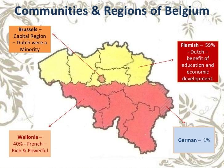 2 communities regions of belgium